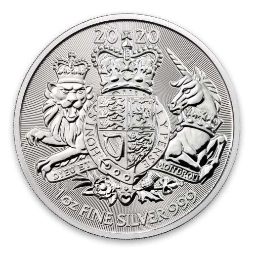 2020 1oz Royal Arms Silver Coin