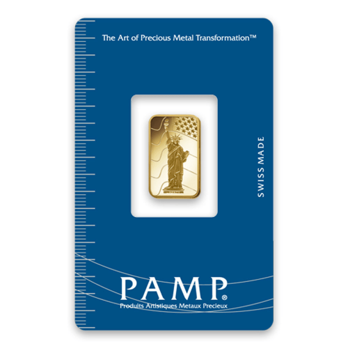 5g PAMP Gold Bar - Liberty