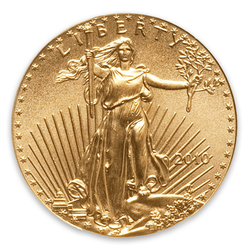 2010 1/10oz American Gold Eagle
