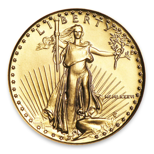 1986 1/4oz American Gold Eagle