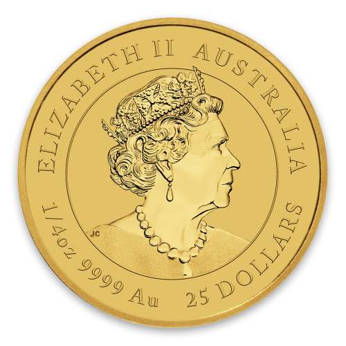 2020 1/4oz Australian Gold Lunar: Year of the Mouse