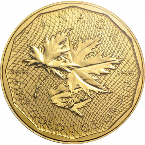 Any Year 1oz Canadian Gold Maple Leaf - 99999