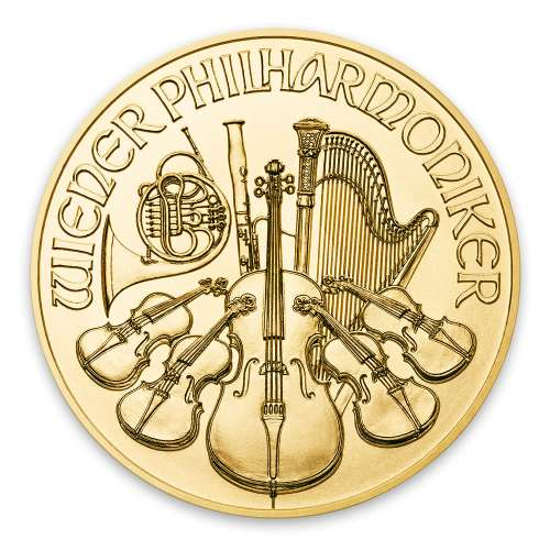 2019 1/10oz Austrian Gold Philharmonic