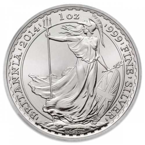 1oz Any Year British Silver Britannia