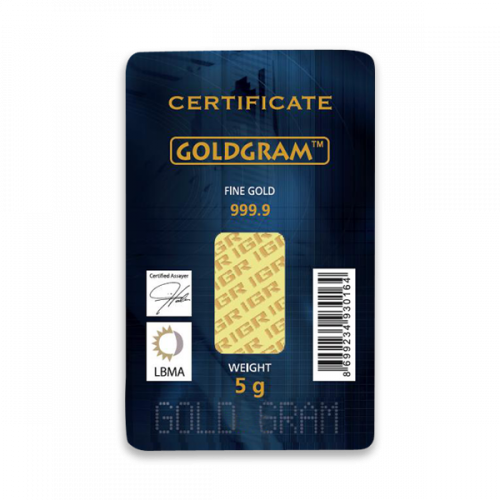 Generic 5g Gold Bar