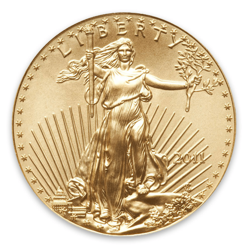 2011 1/2oz American Gold Eagle