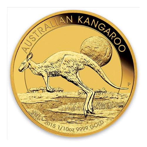 2015 1/10oz Bullion Kangaroo Coin