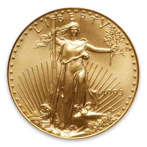 1993 1oz American Gold Eagle