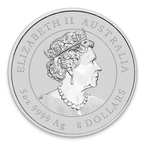 2020 5oz Perth Mint Lunar Series: Year of the Mouse Silver Coin