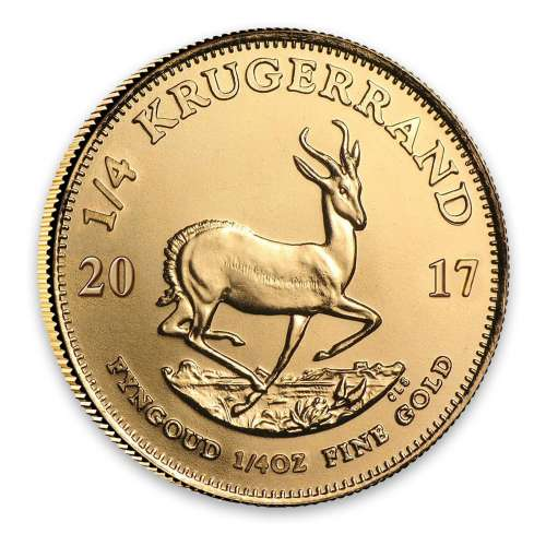 2017 1/4oz South African Gold Krugerrand