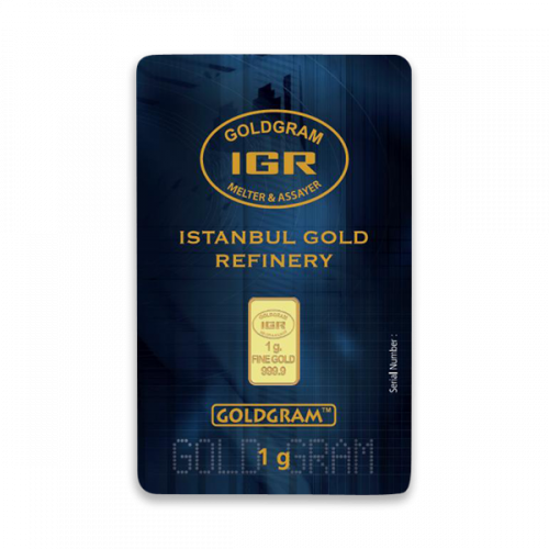 Generic 1g Gold Bar