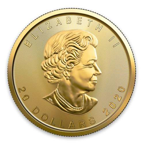 2020 1/2 oz Canadian Gold Maple Leaf