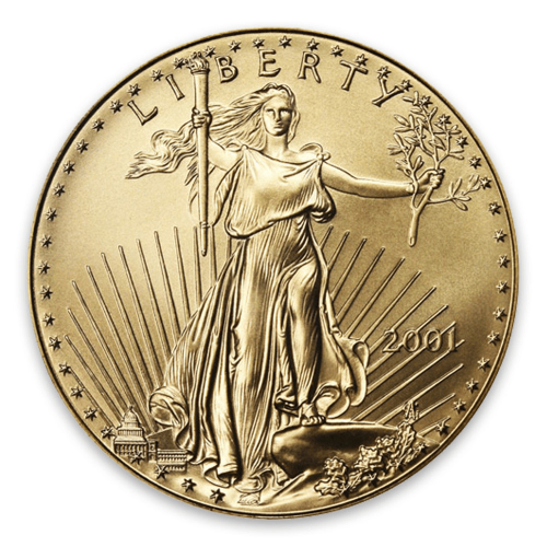2001 1oz American Gold Eagle