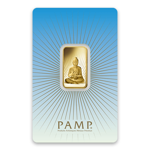 10g PAMP Gold Bar - Buddha
