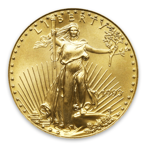 1993 1/2oz American Gold Eagle