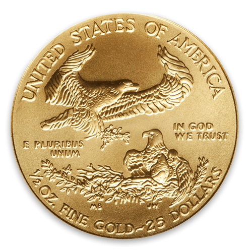 2010 1/2oz American Gold Eagle