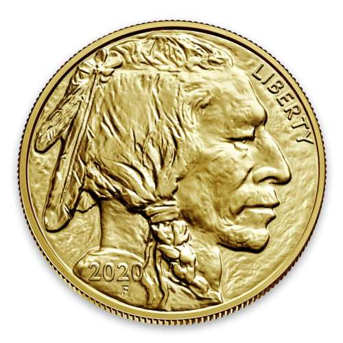 2020 1oz American Gold Buffalo