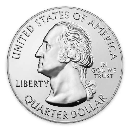 2016 5 oz Silver America the Beautiful  Theodore Roosevelt National Park