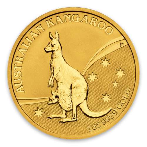 2009 1oz Bullion Nugget / Kangaroo Coin