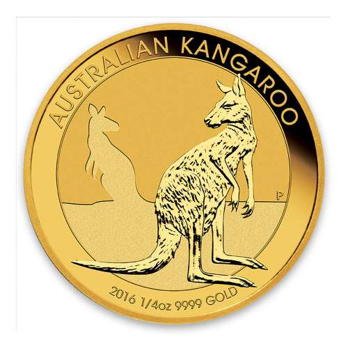 2016 1/4oz Bullion Kangaroo Coin
