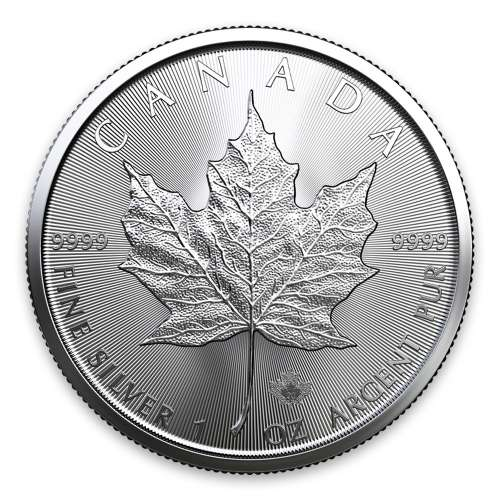 2020 1oz Canadian Silver Maple Leaf