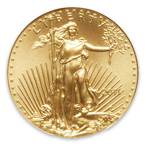 2011 1/10oz American Gold Eagle