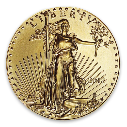 2013 1/2oz American Gold Eagle