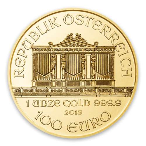 Any Year - 1oz Austrian Gold Philharmonic