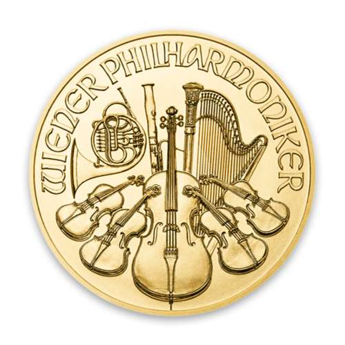 Any Year - 1/25oz Austrian Gold Philharmonic