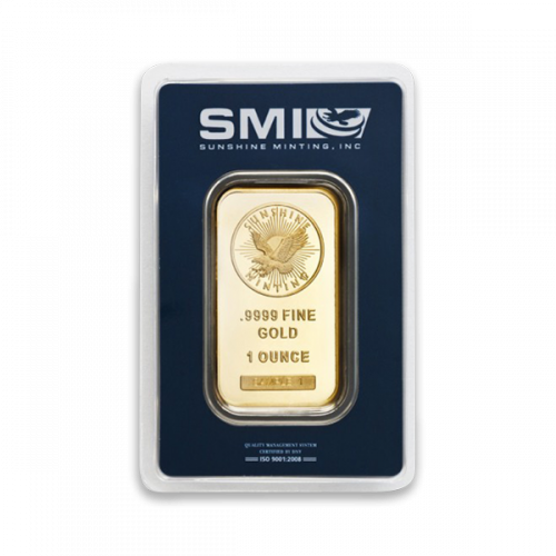 Generic 1oz Gold Bar