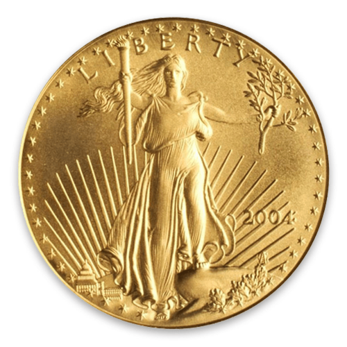 2004 1oz American Gold Eagle