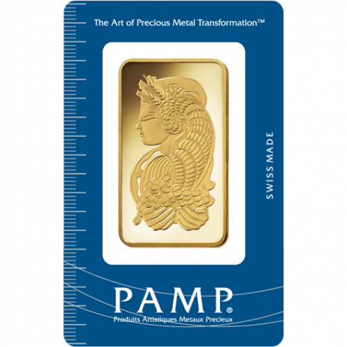5 Tola PAMP Gold Bar - Fortuna