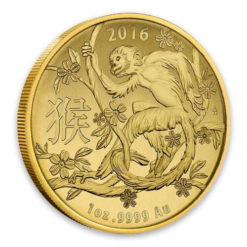 2016 Royal Australian Mint 1oz Year of the Monkey