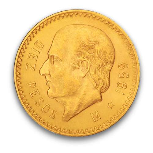 Mexico 10 Peso Gold Coin