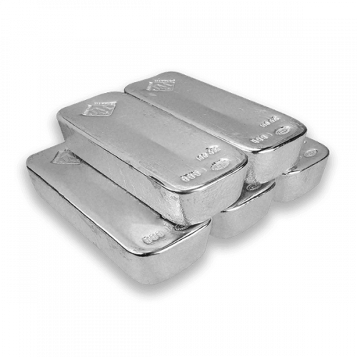 100oz Johnson Matthey Silver Bar