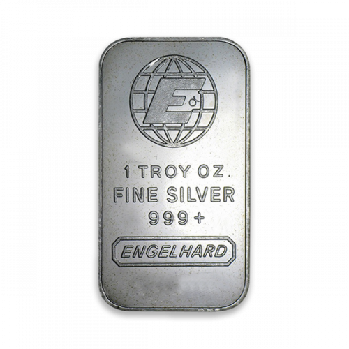 1oz Engelhard Silver Bar