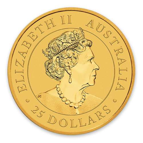 2019  1/4oz  Australian Perth Mint Gold Kangaroo