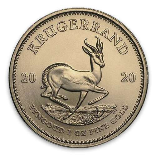 2020 1oz South African Gold Krugerrand