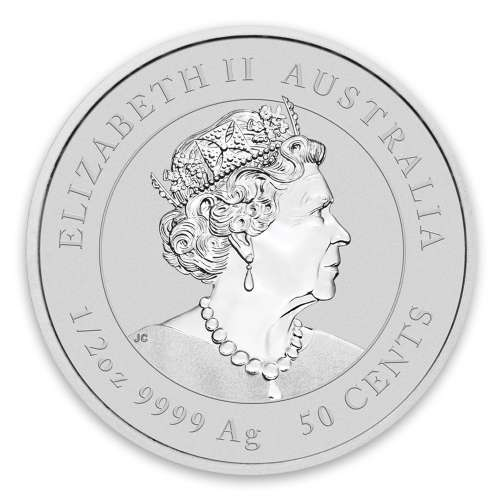 2020 1/2 oz Perth Mint Lunar Series: Year of the Mouse Silver Coin