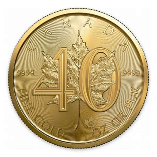 2019 1 Oz 99.99% Pure Gold 40th Anniversary Coin