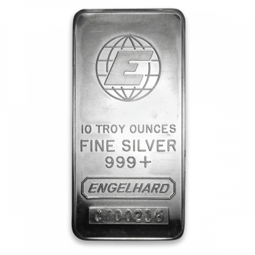 10oz Engelhard Silver Bar
