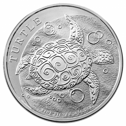 Any Year 2oz Niue Turtle