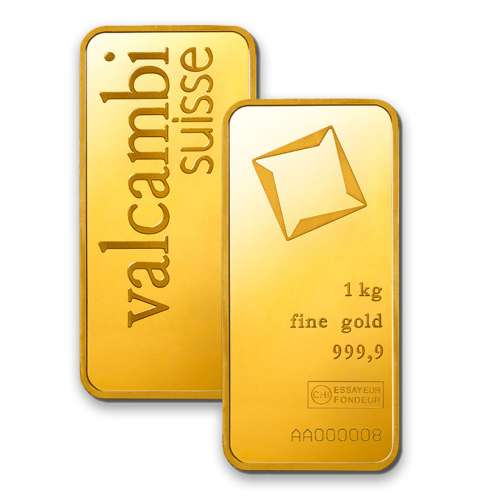 1kg Valcambi Minted Gold Bar