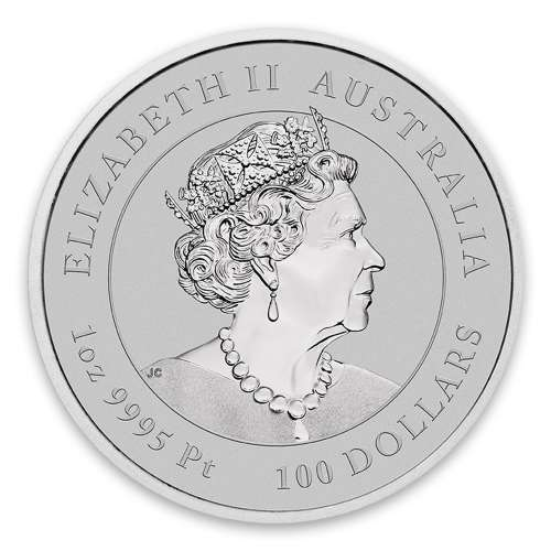 2020 1oz Perth Mint Lunar Series: Year of the Mouse Platinum Coin