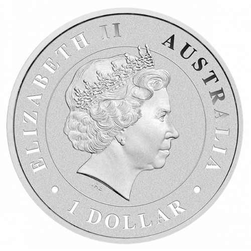 2015 1oz Perth Mint Silver Funnel Web Spider