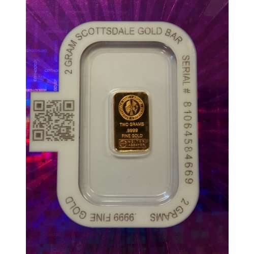 Generic 2g Gold Bar