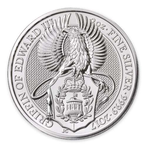 2017 2oz Britain Queen's Beasts: The Griffin
