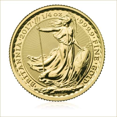 2017 1/4oz British Gold Britannia