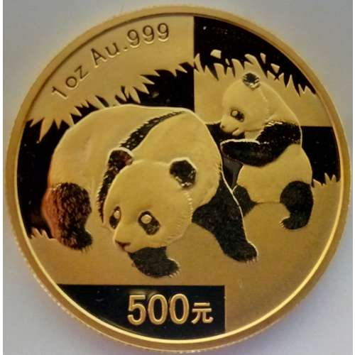 2008 1oz Chinese Gold Panda